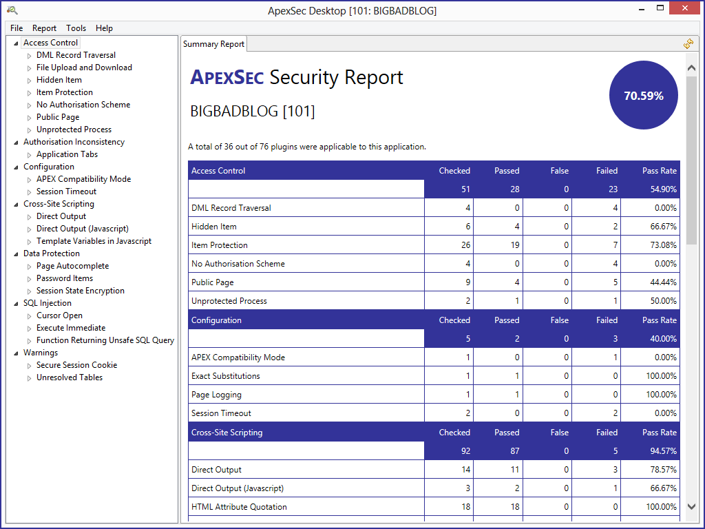 ApexSec | Securing your Oracle APEX applications